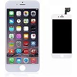 """Ushining Ricambio Schermo Display Completo LCD per iPhone 6S Bianco 4.7"""" - Attrezzi inclusi (Bianco)"""