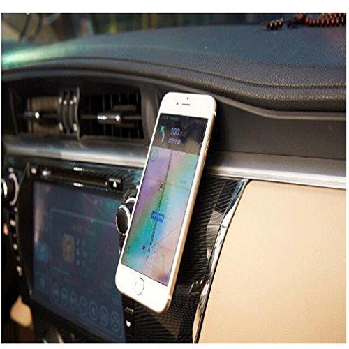 Yuelu universale pasta, auto, casa, telefono cellulare magnete Stent cruscotto appiattito magnetico del telefono mobile rack, 1pz Earthly gold