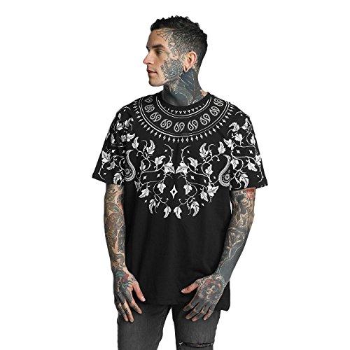 Criminal Damage Herren Oberteile / T-Shirt Matera Schwarz