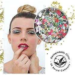 Ecostardust Moonshine biodegradabile glitter ✶ festival Bioglitter cosmetici viso corpo capelli unghie