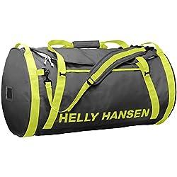 Helly Hansen Hh Duffel Bag 2 Bolsa de viaje, 65 cm, 70 liters, Gris (Ebony)