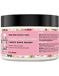 Amour et Beauté du marché Muru (Muru (Beurre et rose Cheveux Masque Blooming Couleur 300ml