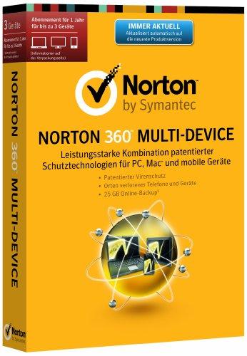 Norton 360 Multi Device 2.0 - 3 Geräte (PC, MAC, Android, iOS) (Minibox) (2 Norton 360 Pc)