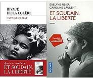 Les deux romans de Caroline Laurent : Rivage de la colère - Et soudain, la liberté