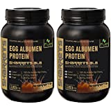 [Sponsored]SHARRETS NON GMO EGG WHITE (ALBUMEN) PROTEIN - CHOCO. FLAVORED 2 X 2.202lb [ Sports Supplements , Energy Drink...