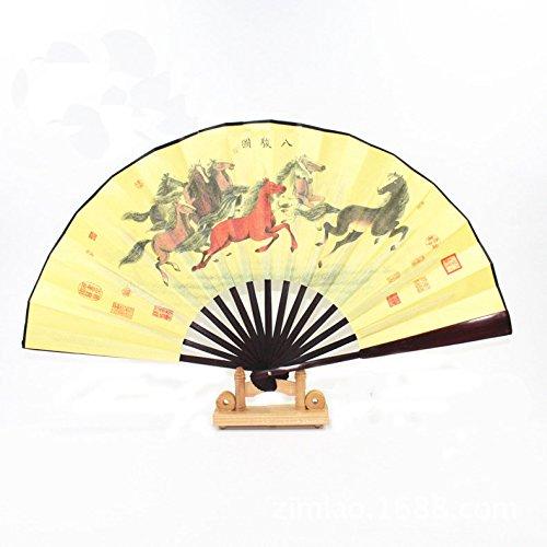 geek-house-chino-8-de-alta-calidad-caligrafia-y-pintura-seda-gamuza-ventiladores