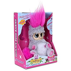 "Bush bebé Mundo 2312""Shimmies Pink Lady Lu Lu Peluche"