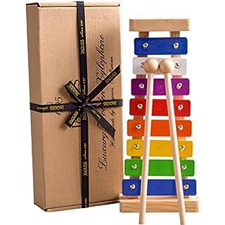 Jaques of London Xylophon - EIN großes Musikspielzeug für Kinder & Kinder Glockenspiel im Sortiment - perfekt für Junge Musiker; Lehrinstrument Qualität seit 1795