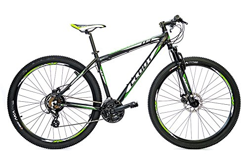 Cloot Bike - Bicicleta de montaña 29-Mountainbike 29-MTB -Xr trail 90 Shimano Altus 21 velocidades, Horquilla Bloqueo, Aluminio 6061, Frenos disco Shimano, Geax Aka., Talla: M (159 - 171)