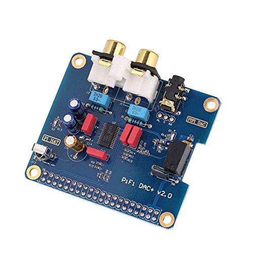 Topiky Scheda Audio per Raspberry PI, Interfaccia I2S PiFi digi DAC + Scheda Audio Digitale HiFi digi per Raspberry PI 3 Modello B / 2B / B