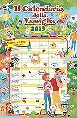 Idea Regalo - Calendario Agenda FAMIGLIA 2019