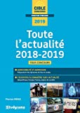 Toute l'actualité 2018-2019 : Géopolitique, Europe, France, Enjeux de société