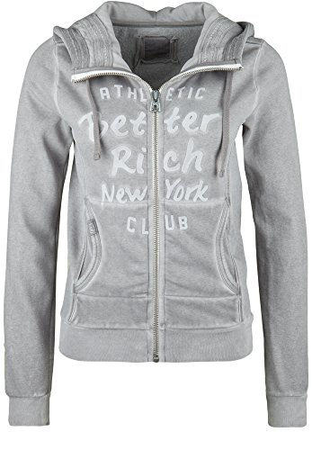BETTER RICH Damen Kapuzensweatjacke SHELBY VELVET