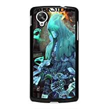 Hot Games Darksiders Wrath of War Geogle Nexus 5 Case,Darksiders Coque Cover For Geogle Nexus 5,Black Coque