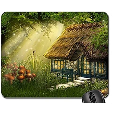 Fata Cottage Mouse Pad, Mousepad (Houses Mouse Pad)