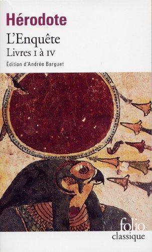 L'Enqute (Livres I  IV)