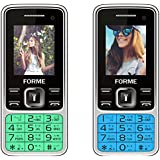 Forme N9+ Combo Of Two Mobile (Green & Blue)