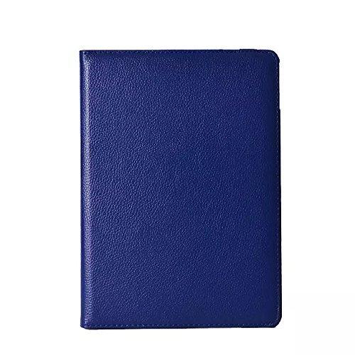 inShang iPad air 2 ipad 6 Housse (iPad 2014-2015 Version) Etui Smart Cover Pour Tablette iPad6 PU cuir, - Fait automatiquement passer en mode veille et sortir du mode veille votre, Coque Avec Support  Blue