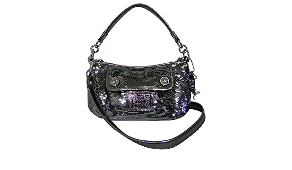 Coach 15381 Limited Edition Poppy Sequined Groovy Bag  Amazon.co.uk  Shoes    Bags 4e7a5fc782