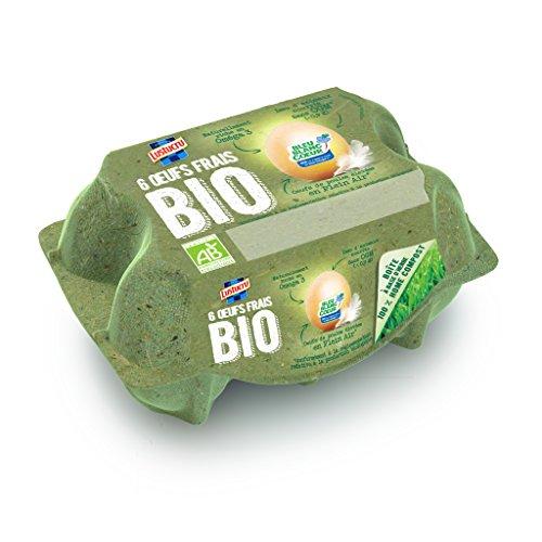 Lustucru Gros œufs Le BIO la boite de 6 - 400 g