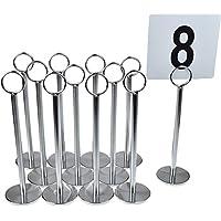 Argon Tableware Suporte para números de tabla - 20cm - 12 unidades
