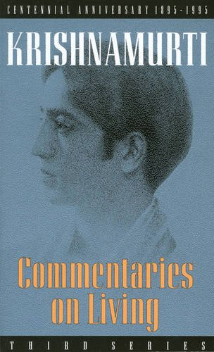 Commentaries on Living: Third Series: 3rd Series