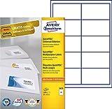 Avery Zweckform 3679 Universal-Etiketten (A4, Papier matt, 1,000 Etiketten, 97 x 55 mm) 100 Blatt weiß