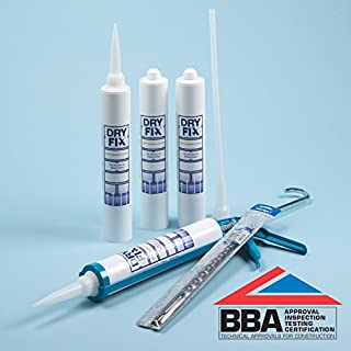 DryFix DPC Damp Proofing Injection Cream 380ml BBA x 4 Kit