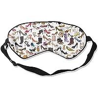 Eye Mask Eyeshade High Heeled Shoes Sleeping Mask Blindfold Eyepatch Adjustable Head Strap preisvergleich bei billige-tabletten.eu