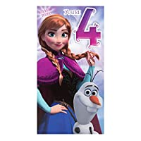 Hallmark Disney Frozen 3rd Birthday Card