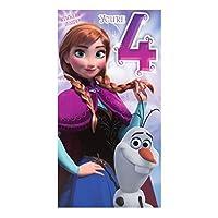 Hallmark Disney Frozen 3rd Birthday Card