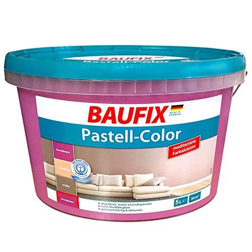 Baufix Innenfarbe Wandfarbe Dispersions-Innenfarbe Matt Lila Violett 5 Liter