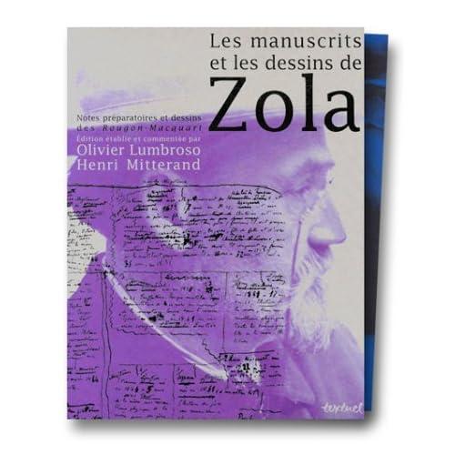 Les Manuscrits et les Dessins de Zola : Coffret 3 volumes