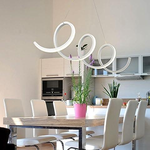 Moderno led Acrilico lampadario LED hanging sospensione apparecchio Lampadari ciondolo