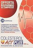 Linea ACT - Colesterol ACT Plus 400mg - Integratore Alimentare con Riso Rosso Fermentato - 30 compresse