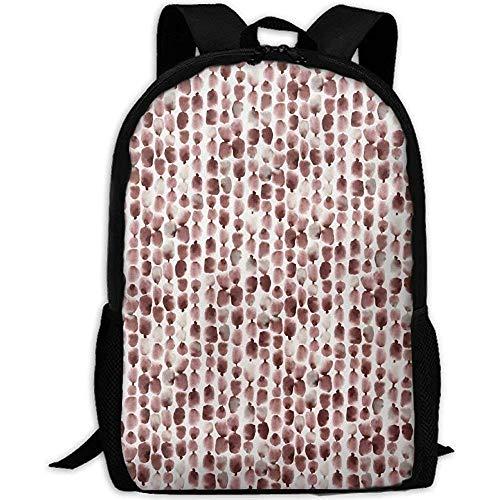 Rucksack,Otter Scatter Diagramm Erwachsener Reiserucksack Schule Casual Daypack Oxford Outdoor Laptop Tasche College Computer Umhängetaschen -