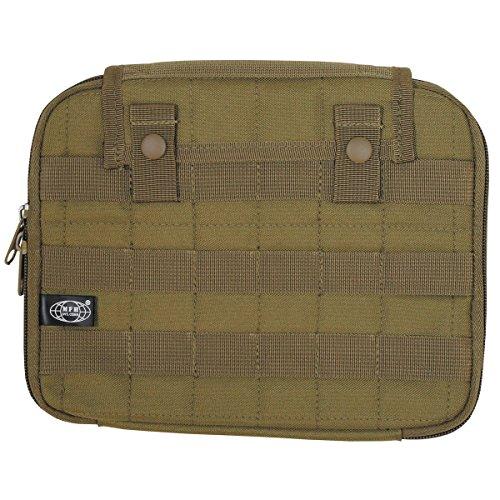 MFH Borsa imbottita Borsa Tablet protettiva molle PC Computer 25x 20cm schultasche Outdoor tasche Camping molti colori, oliva, Taglia unica Coyote
