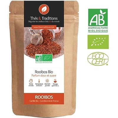 Rooibos Nature BIO | Sachet 100g vrac | ? Certifié Agriculture biologique ?