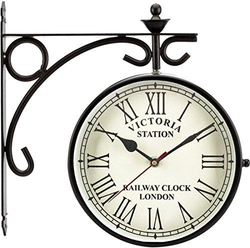 JaipurCrafts Decorative 6 Inches Victoria Station Clock ( 6IN )
