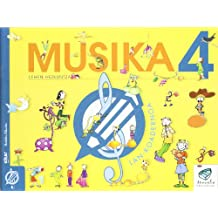 Txanela 4 - Musika 4. Lan-koadernoa 4 - 9788497832441