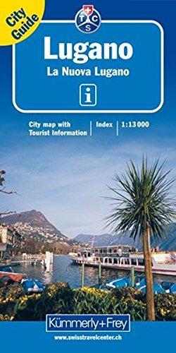 Plan de ville : Lugano par Cartes Kümmerly + Frey