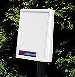 Allbandantenne LTE-1000 - die LTE MIMO Antenne für Vodafone, Telekom, Telefonica - LTE 800, LTE1800, LTE2600, WLAN und UMTS