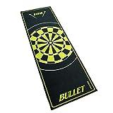 Bullet Hochwertige Turnier Dartmatte 237x80cm in Grün