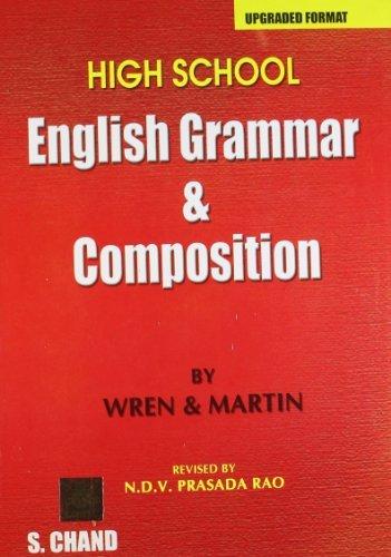 High School English Grammar & Composition by P.C. Wren (2007-01-02)