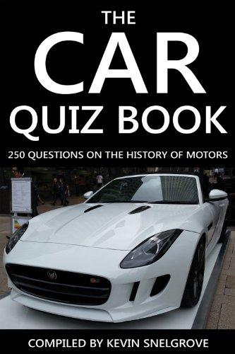 The Car Quiz Book Ebook Kevin Snelgrove Amazon Co Uk Kindle Store