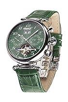 Ingersoll Damen-Armbanduhr Walldorf II Chronograph Automatik Leder IN1319GR