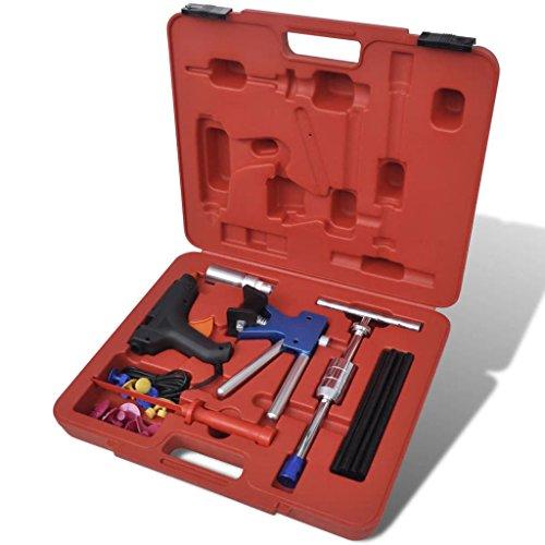 32-teiliges Set zur sicheren Reparatur von Dellen, Schlägen und Hagelaufschlägen fast überall auf jedem Fahrzeug ohne die Originalfarbe zu beeinträchtigen.