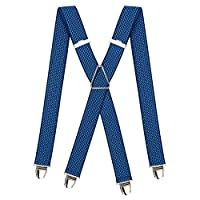 PIERROT bretels voor heren, groot en vintage - 29 kleuren - verstelbare grootte tot 130 cm - levenslange garantie - 100% DUITS & FRANS