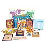 Learning Toys for Kids - EGYPT Activity Kit from Globetrotters - Little Explorers (4-6 years)