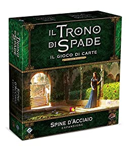 Asmodee Italia The Game of Thrones LCG Steel Plugs Second Edition Italian, 9235 - Tapones de Acero